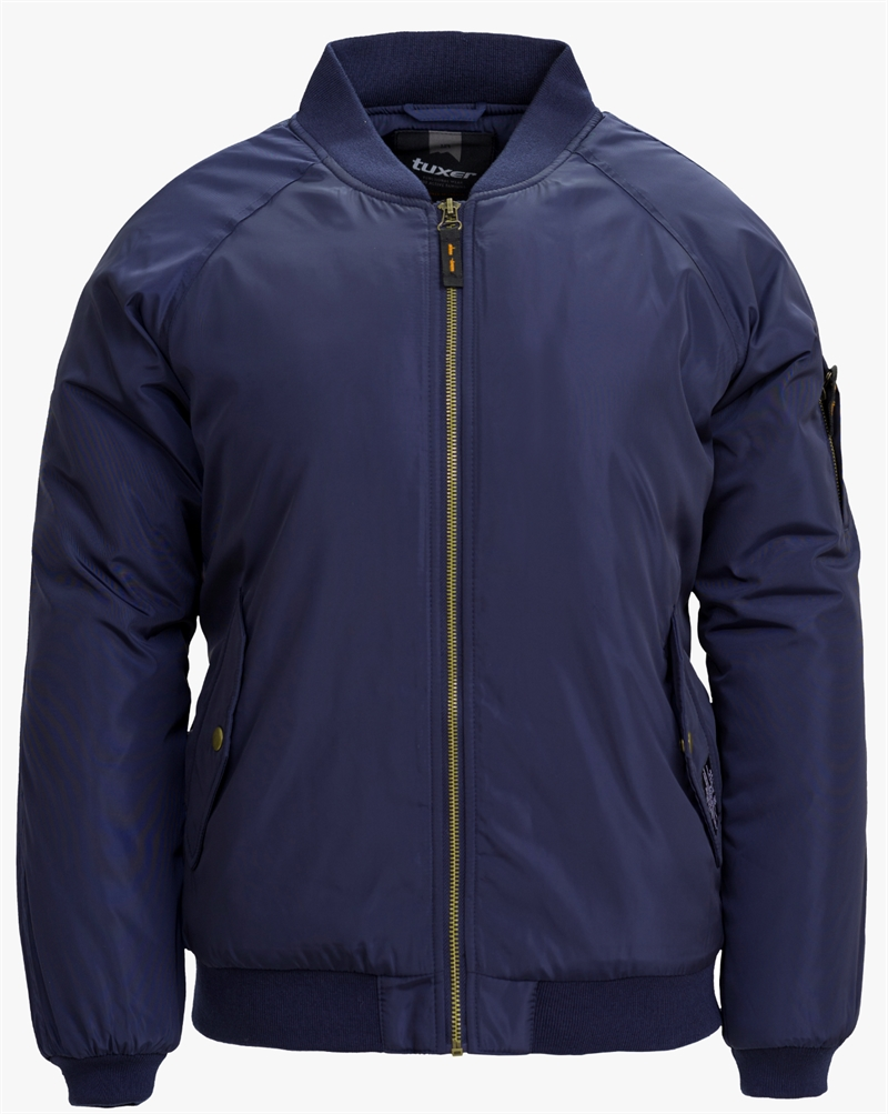 Spoon Ladies Jacket Bomber Jacka Dark Navy Dam