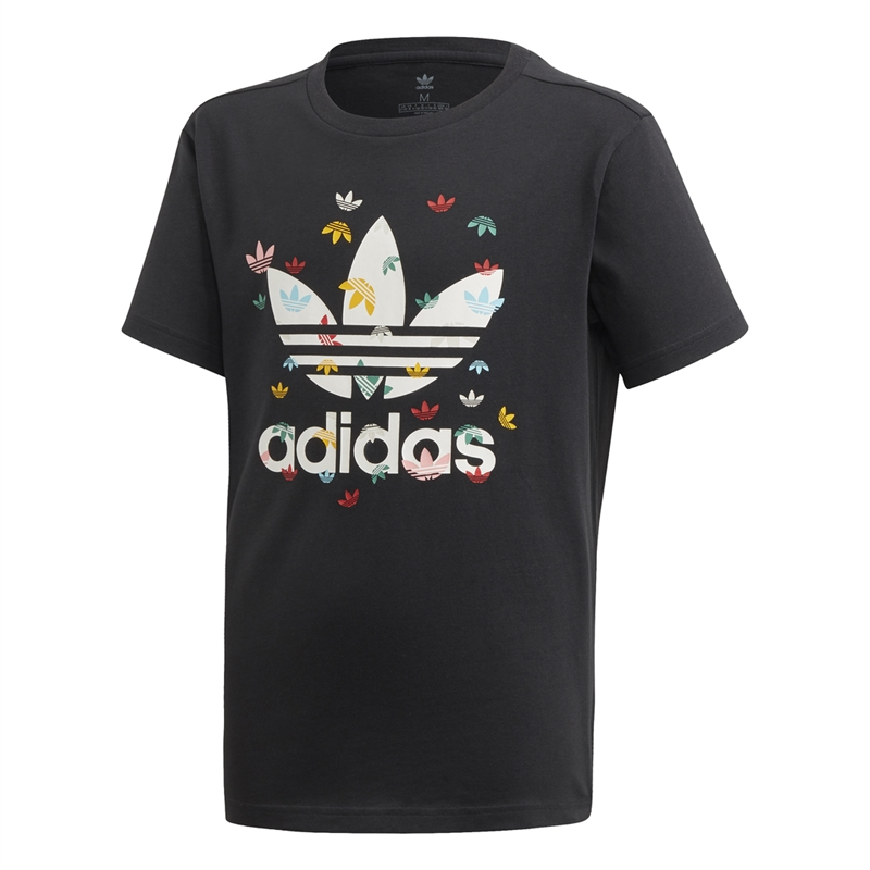 Adidas T-shirt Junior Svart Multi (1)