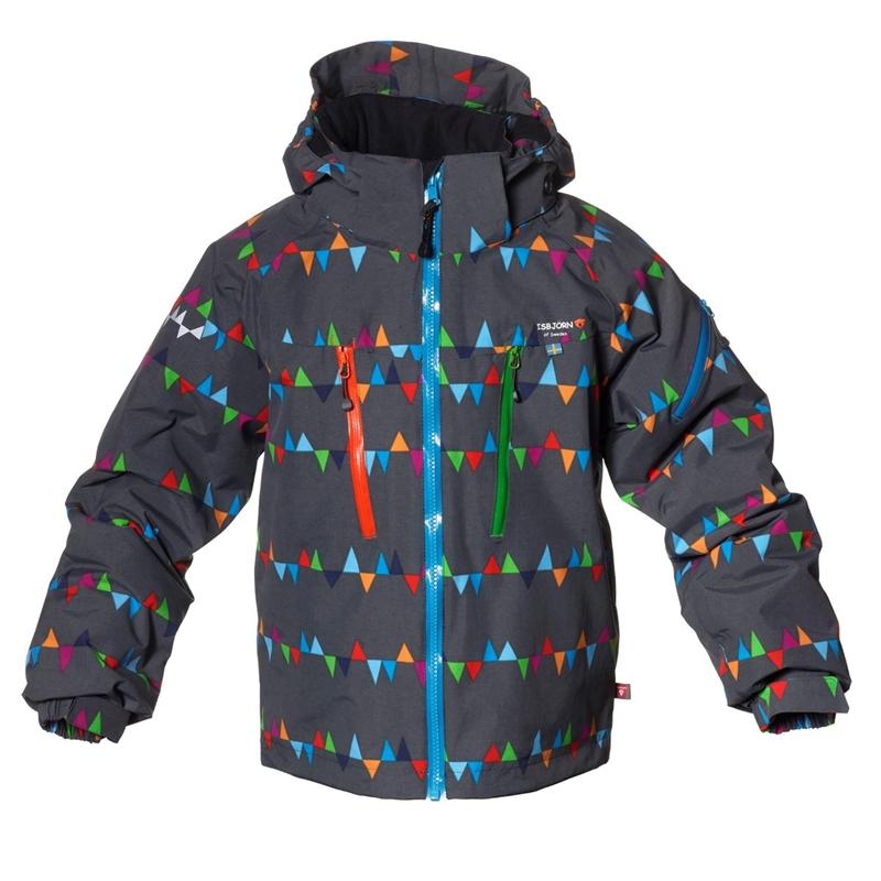 Carving Winter Jacket Peaks Grey Vinterjacka Junior Isbjörn Of Sweden 74802087fcf0b