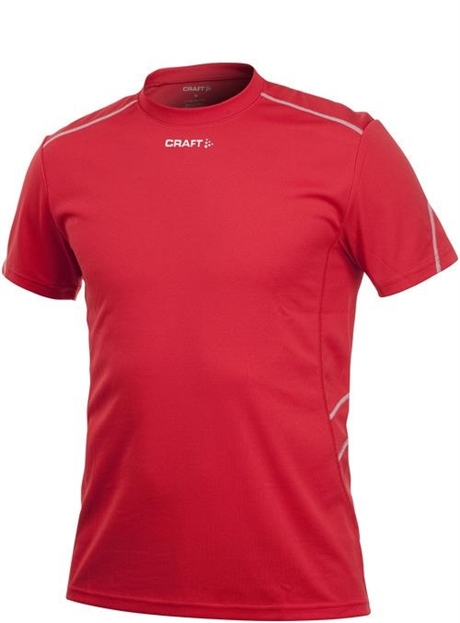 Active Run Fast Tee Red