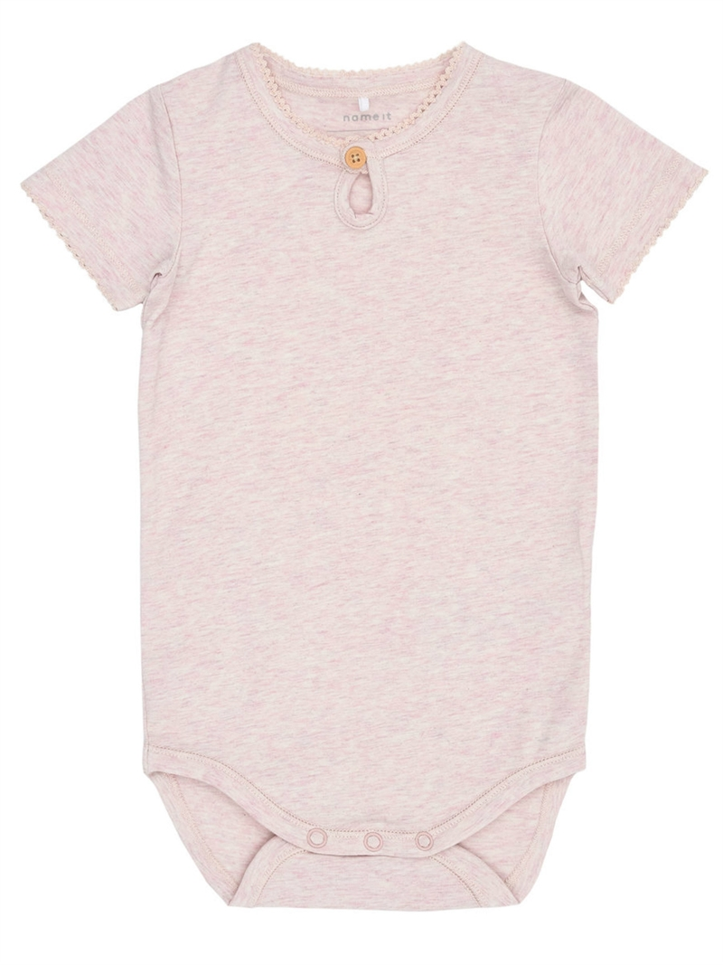 Grace Ss Body NB Pink Dogwood