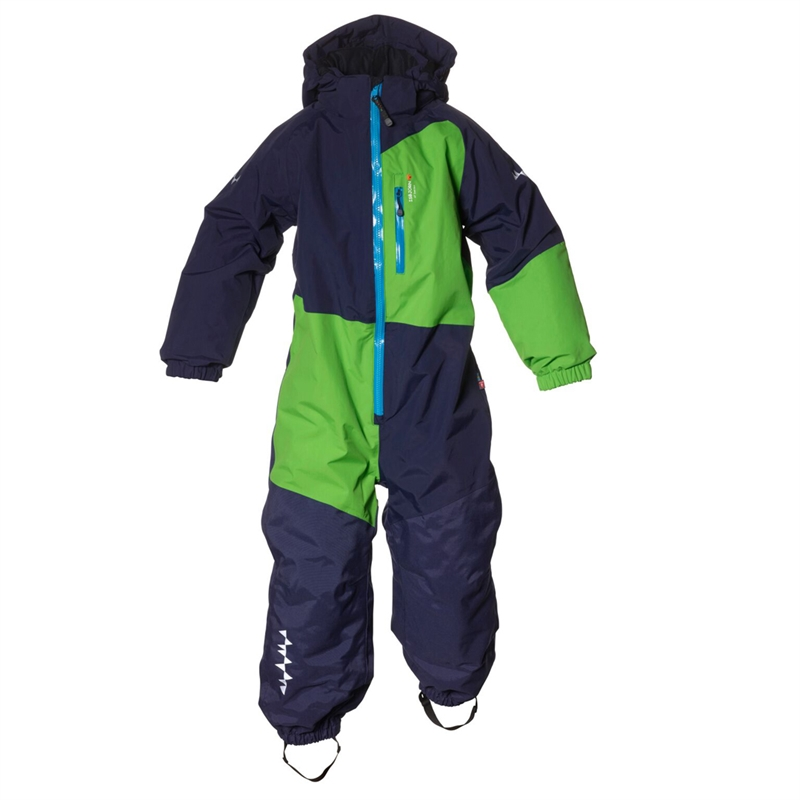 Halfpipe Winter Jumpsuit Navy Vinteroverall Barn Isbjörn Of Sweden