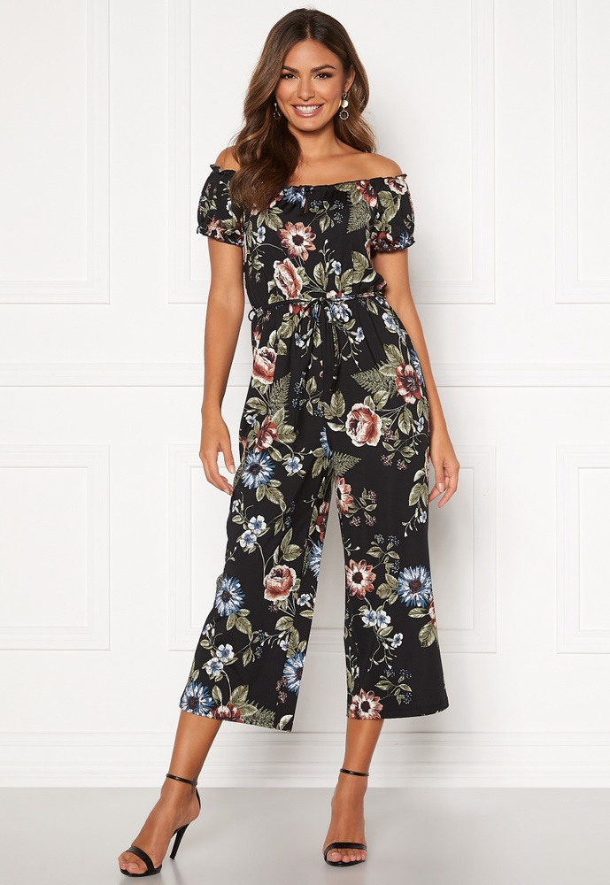Happy Holly Tessan Jumpsuit Dam Blommig