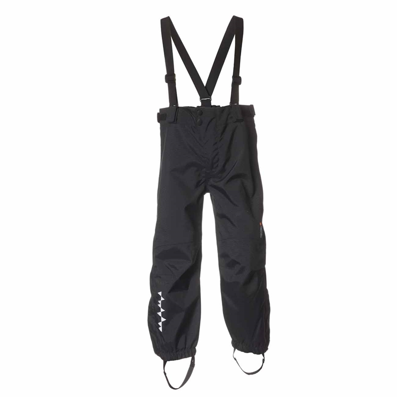 Hurricane Hard Shell Pant Black Skalbyxa Barn Isbjörn Of Sweden