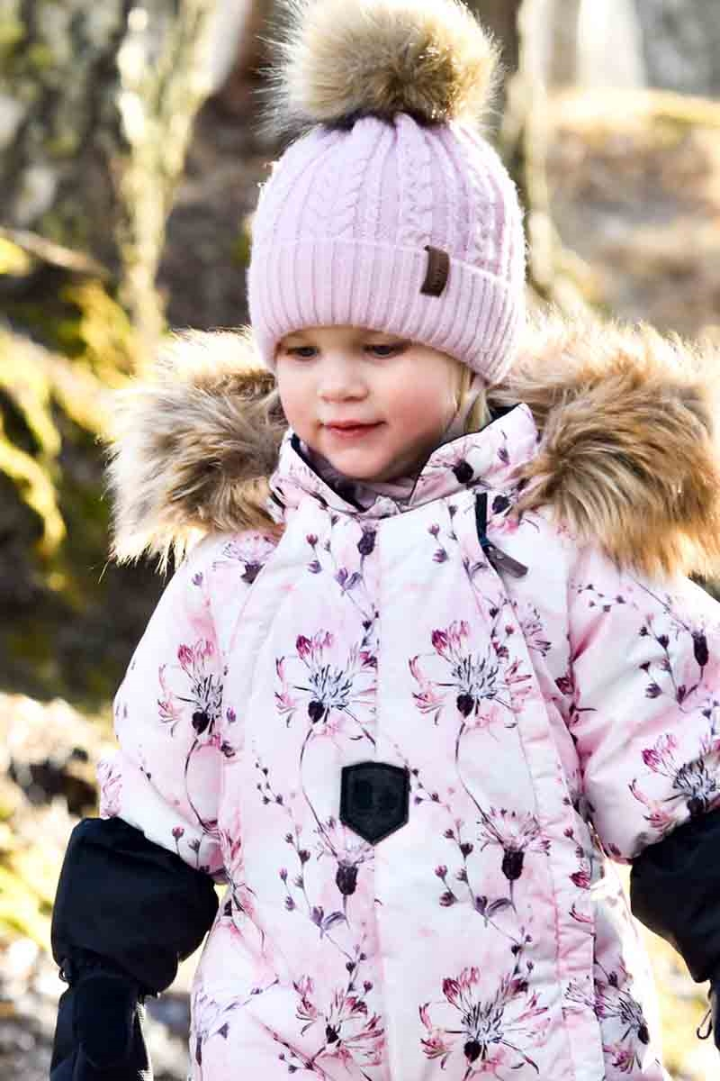 Lindberg Frosty Vinteroverall Baby Rosa