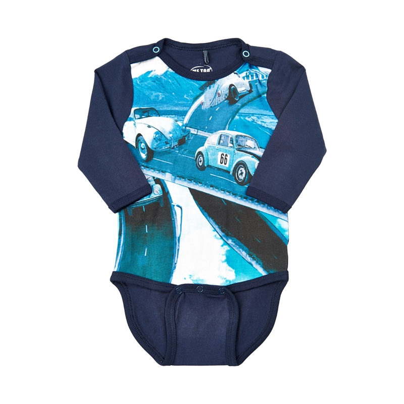 Matti Baby Body Ls Navy Night