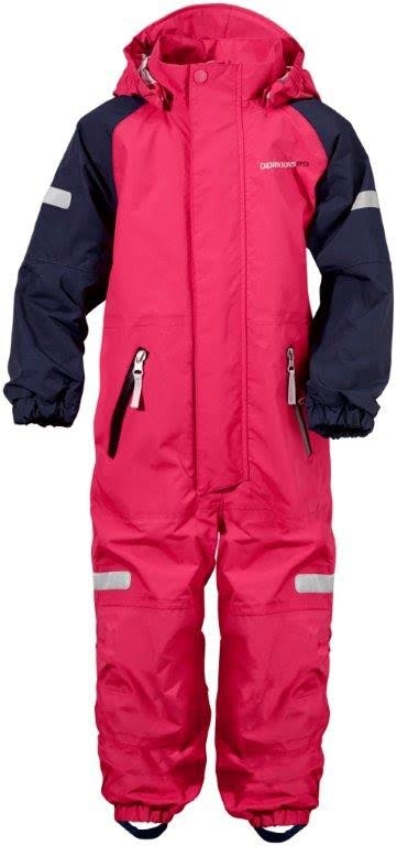 Nabilla Kids Coverall Bubble Gum Skaloverall Barn Didriksons (1)