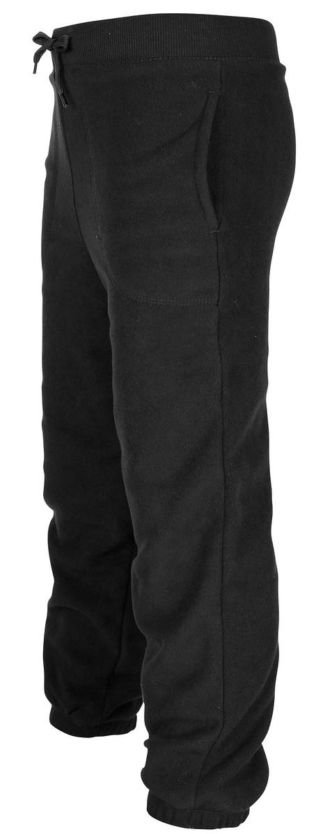 sävar fleece pants black lindberg fleecebyxa barn smile d5d89c873203d