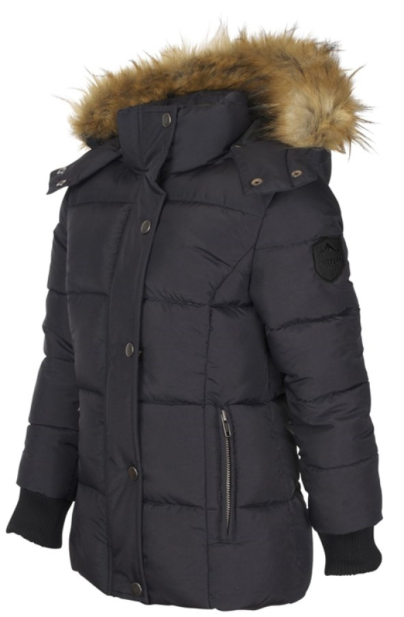 Lindberg Seefeld Jacket Black Vinterjacka Junior