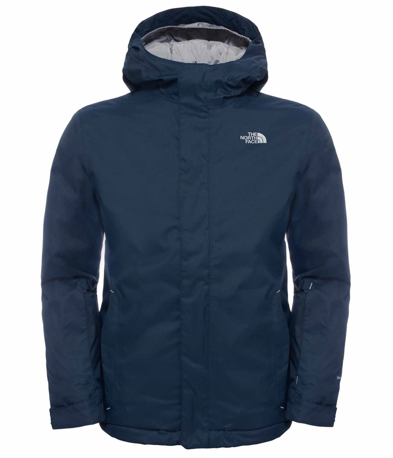 Snow Quest Jacket Cosmic Blue The North Face Vinterjacka Barn