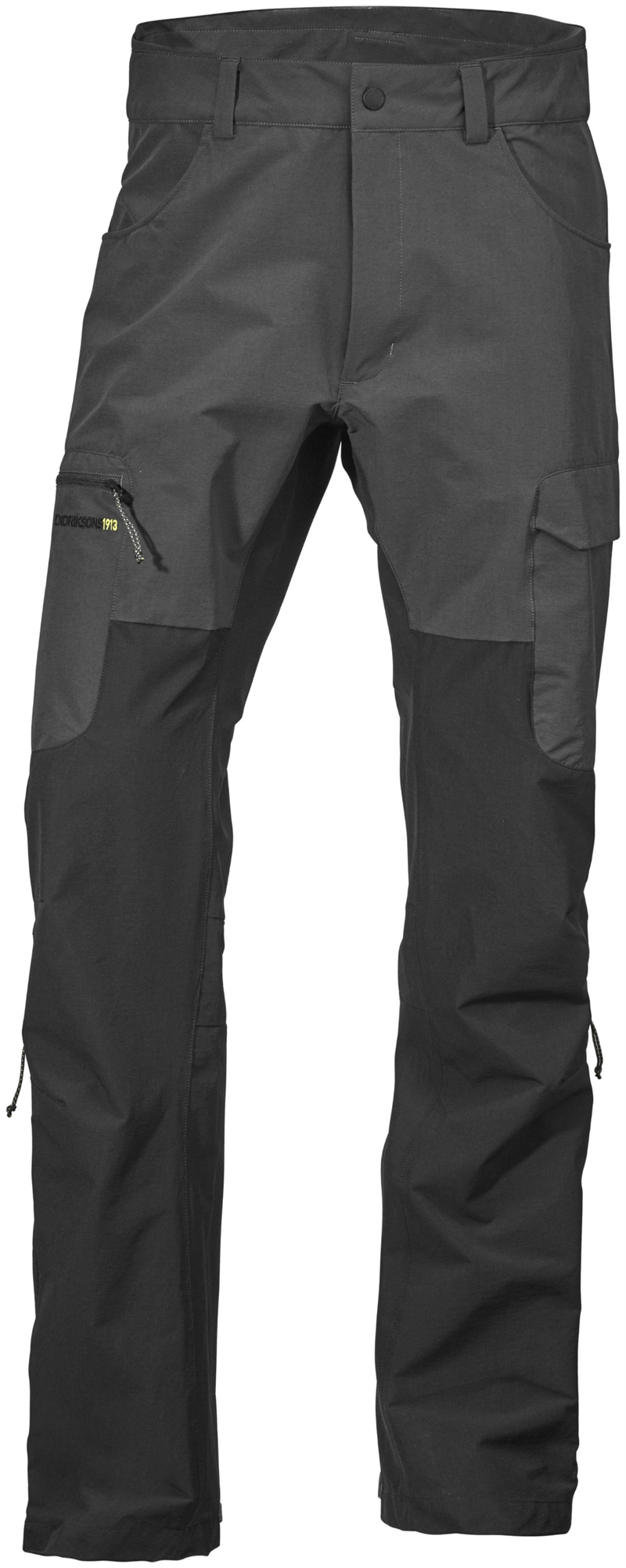 Spencer Mens Pants Outdoor Coal Black Didriksons Fritidsbyxa