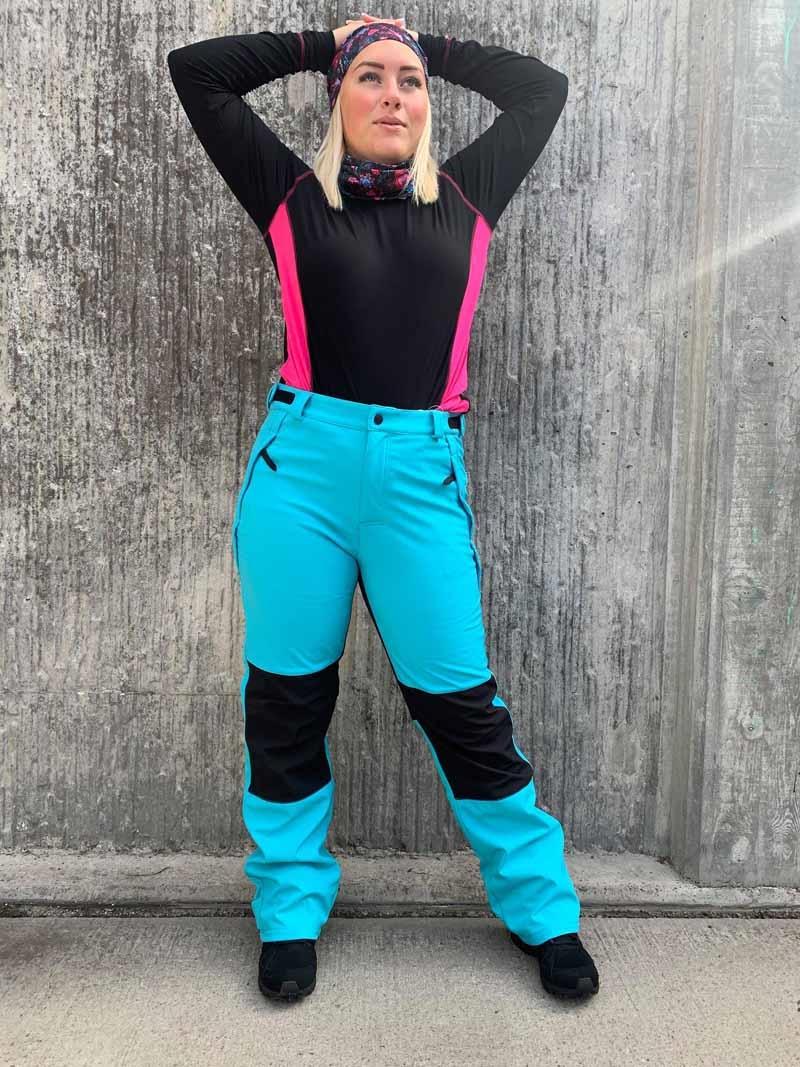 Tuxer Supreme Unisex Pants Black Softshellbyxa USX Tuxer