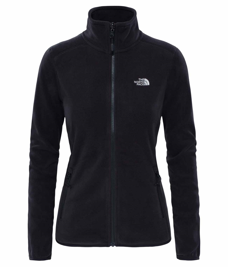 The North Face Glacier Fleecejacka Polartec® Svart Dam