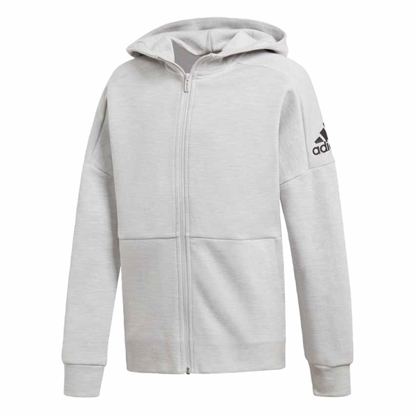 Adidas Tape Hoodie Junior Vinröd SMILE.
