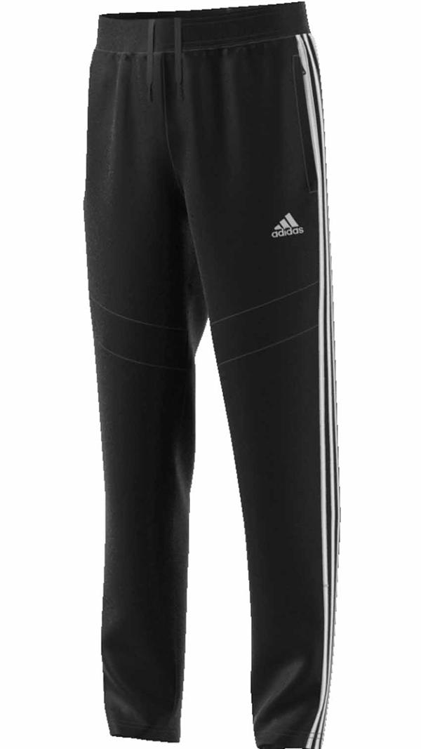 reputable site e0afe b8c2e Adidas Tr  228 ningsbyxa Med Zip Svart Junior