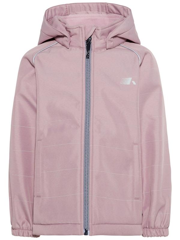 1fb3a487382 Köp nu · Alfa Softshell Jacket Dawn Pink Mini Name it