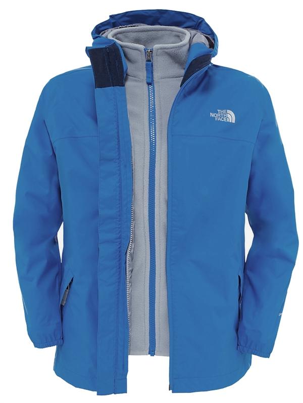 Boys Elden Rain TriClimate® Jacket Jake Blue Barnjacka Storlek 140 9cfbeb421630d