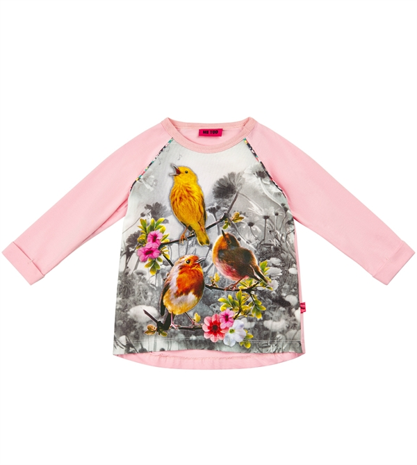 Me Too. 279 kr. Klara Mini Tunic LS Crystal Rose 812e88ee95c63