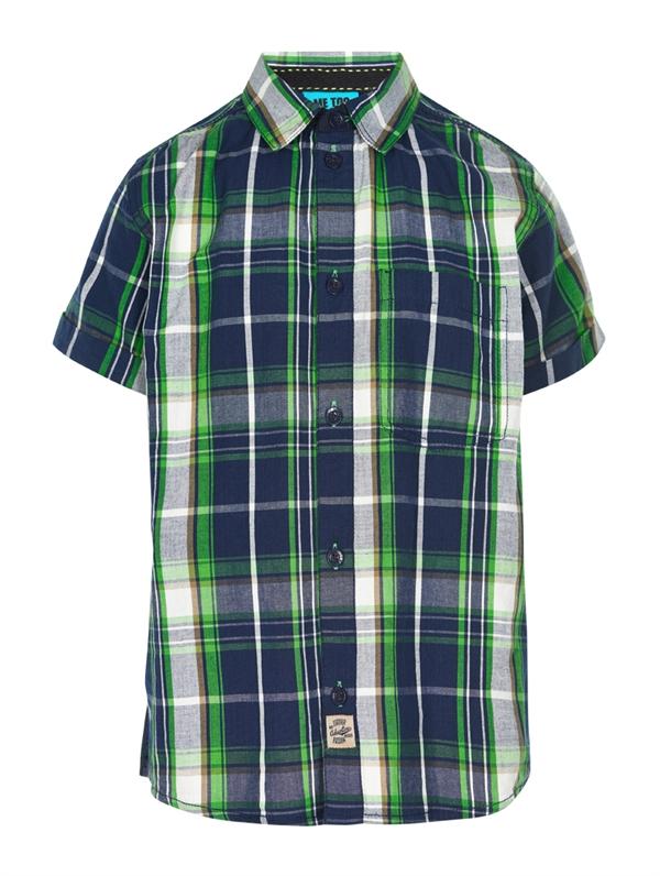 Kris Shirt SS Black Iris Kortärmad Skjorta Barn Me Too 8832ed5926bd0