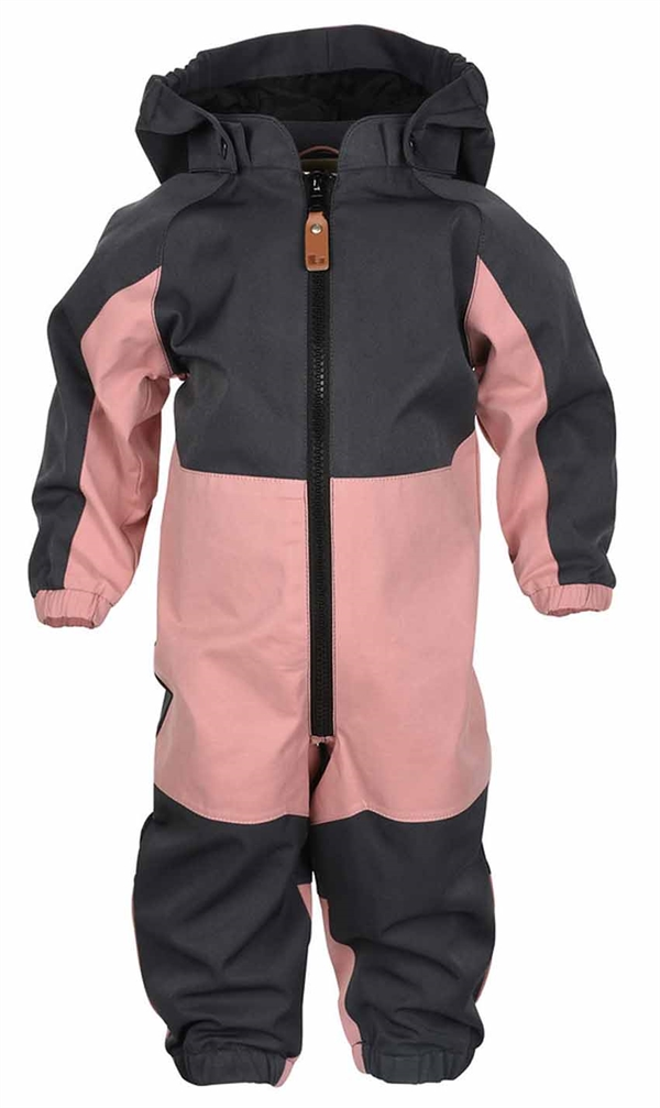 watch 74198 432f9 Lindberg Explorer Skaloverall Baby Barn Rosa