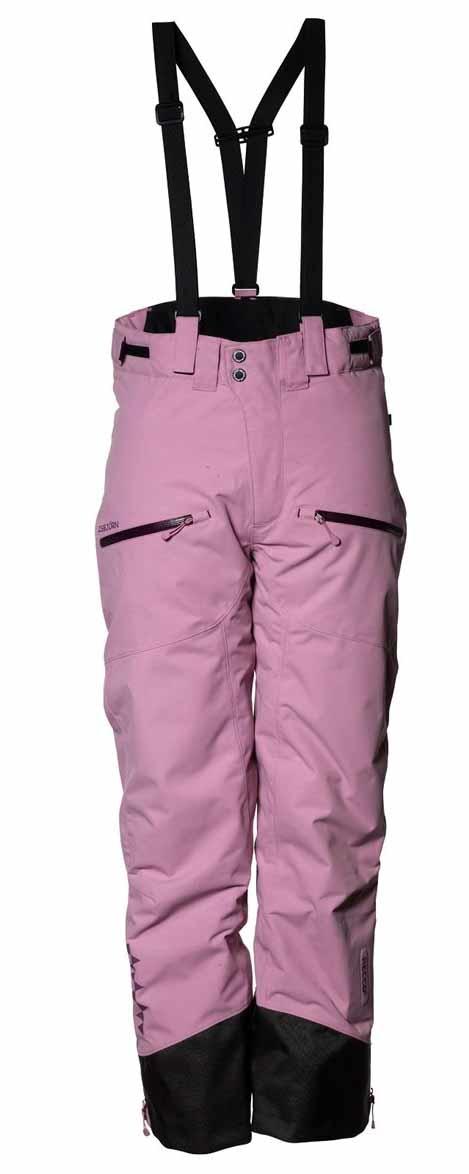 Offpist Ski Pant Dusty Pink Skidbyxor Barn Junior Isbjörn Of Sweden Smile 681bb70b393a7