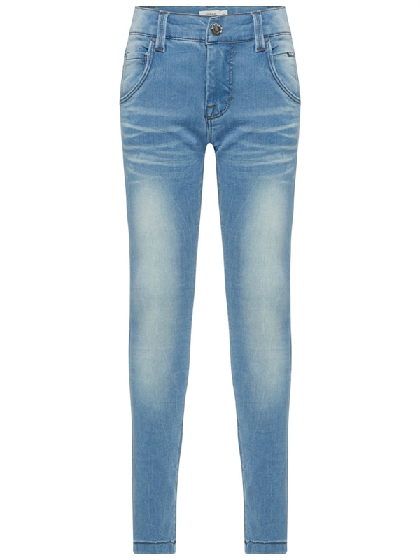 fa2a32f92e6 Theo Slim Superstretch Jeans Light Blue Denim Barn Name it