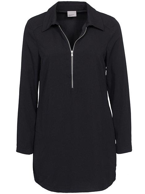 c34a3dd4a8ce Rinse Ls Dress Black Klänning Vero Moda