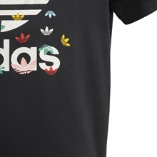 Adidas T-shirt Junior Svart Multi (4)