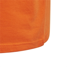 Adidas Trefoil T-shirt Orange Logga Detalj
