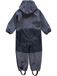 Alfa Softshell Suit Dress Blues Mini Softshelloverall Name it Back