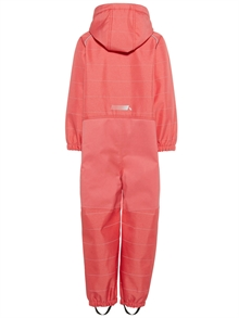 Alfa Softshell Suit Sunkist Coral Softshelloverall Mini Name it back