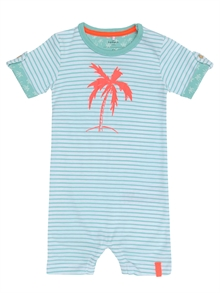 Derry Ss Sunsuit NB Aqua Haze