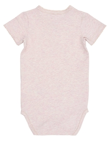 Grace Ss Body NB Pink Dogwood back