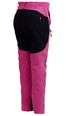 Hunter Lady Pants Pink Hibiskus Outdoorbyxa Dam Tuxer back
