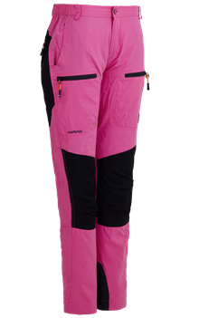 Hunter Lady Pants Pink Hibiskus Outdoorbyxa Dam Tuxer