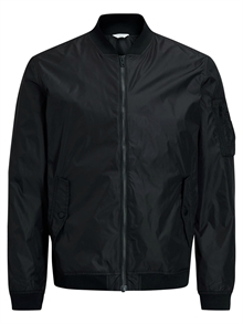 Justin Black Bomber Jacket Jack and Jones Herr
