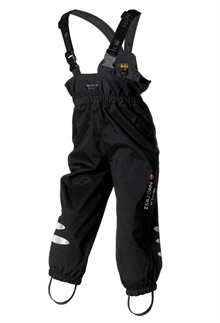 Kuling Hard Shell Pant Black Skalbyxa Barn