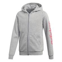Linear Full-Zip Hoodie Grå Junior
