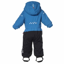 Penguin Winter Jumpsuit Ice Vinteroverall Barn Isbjörn Of Sweden Baksida