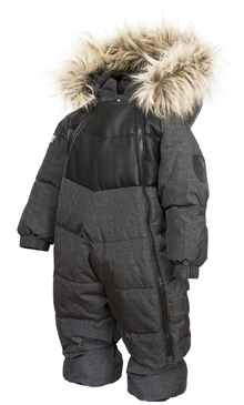 Rocky Baby Overall Anthracite Bebisoverall Lindberg