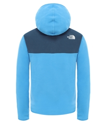 The North Face Glacier Fleece Hoodie Junior Blå (2)