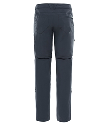 Womens Exploration Convertible Pants Dam North Face Back