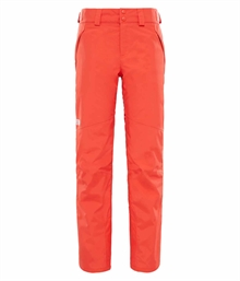 Womens Presena Pant Br Red The North Face Skidbyxa Dam