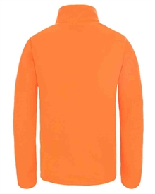 Youth Snow Quest FZ Fleece Shocking Orange Fleecejacka Barn The North Face 2