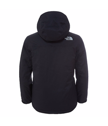 Youth Snow Quest Jacket Black North Face 2